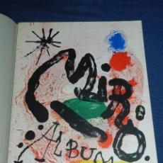 Libros de segunda mano: (M) JOAN MIRO ALBUM 19 , SALA GASPAR 1963 - JOAN PERUCHO, MUY ILUSTRADO, 22 PAG ,. Lote 107020547