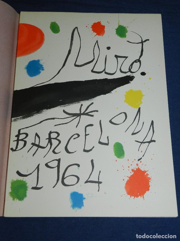 (M) JOAN MIRO OBRA INEDITA RECIENTE , SALA GASPAR 1964 , MIRO BARCELONA 1964 , JOAN BROSSA (Libros de Segunda Mano - Bellas artes, ocio y coleccionismo - Pintura)