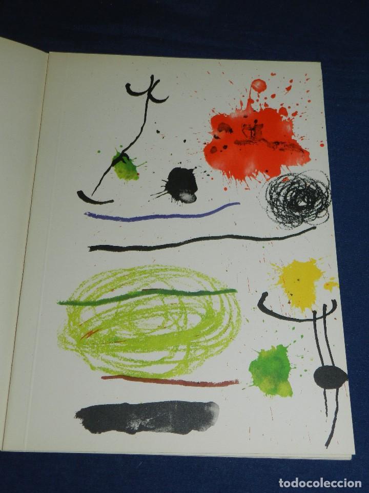 Libros de segunda mano: (M) JOAN MIRO OBRA INEDITA RECIENTE , SALA GASPAR 1964 , MIRO BARCELONA 1964 , JOAN BROSSA - Foto 3 - 107021515
