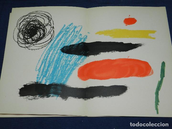 Libros de segunda mano: (M) JOAN MIRO OBRA INEDITA RECIENTE , SALA GASPAR 1964 , MIRO BARCELONA 1964 , JOAN BROSSA - Foto 6 - 107021515
