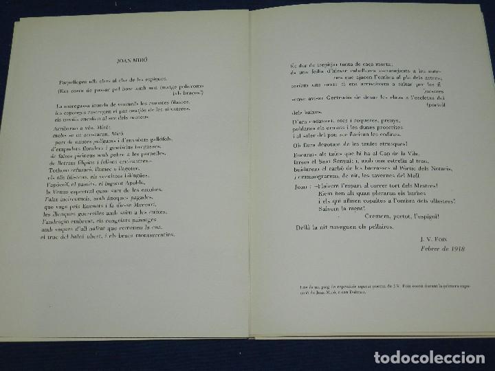 Libros de segunda mano: (M) JOAN MIRO OBRA INEDITA RECIENTE , SALA GASPAR 1964 , MIRO BARCELONA 1964 , JOAN BROSSA - Foto 7 - 107021515