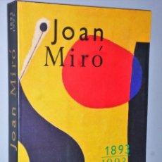 Libros de segunda mano: JOAN MIRO 1893-1993.. Lote 107242459