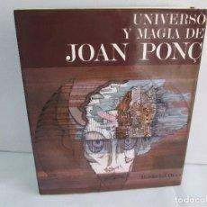 Libros de segunda mano: UNIVERSO Y MAGIA DE JOAN PONC. MORDECHAI OMER. EDICIONES POLIGRAFA 1972. VER FOTOGRAFIAS. Lote 107498307
