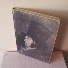 Libros de segunda mano: RAFAEL CASARIEGO - FRANCISCO GOYA LUCIENTES, LOS CAPRICHOS - SEGUNDA EDICION FACSIMIL DE 1965. Lote 108306971