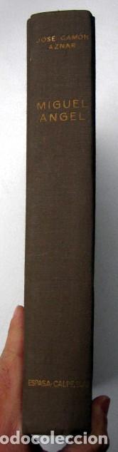 Libros de segunda mano: Miguel Angel, de José Camón Aznar - Foto 2 - 108839151