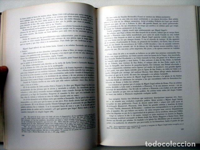 Libros de segunda mano: Miguel Angel, de José Camón Aznar - Foto 3 - 108839151