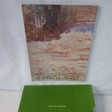 Libros de segunda mano: J.M.W. TURNER. DIBUJOS Y ACUARELAS DEL MUSEO BRITANICO. ACUARELAS DE LA TATE. 2 LIBROS VER FOTOS. Lote 109138407
