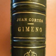 Libros de segunda mano: FRANCESC GIMENO. JUAN CORTÉS. EDITORIAL NIUBÓ. 1949. Lote 109327851