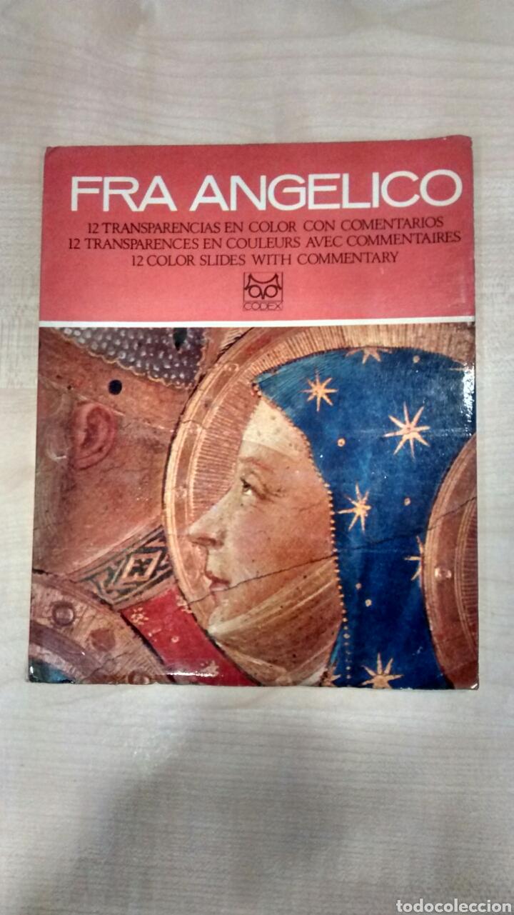 FRA ANGELICO ( 12 TRANSPARENCIAS) (Libros de Segunda Mano - Bellas artes, ocio y coleccionismo - Pintura)