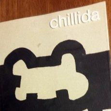 Libros de segunda mano: CATÁLOGO CHILLIDA FUNDACIÓ JOAN MIRÓ 1986. Lote 109621091