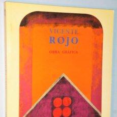 Libros de segunda mano: VICENTE ROJA. OBRA GRÁFICA. . Lote 110062879