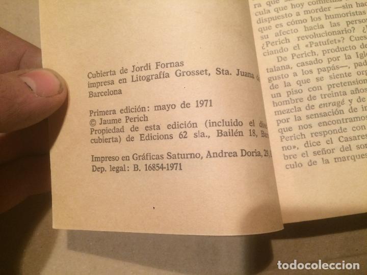 Libros de segunda mano: Antiguo libro Perich Match año 1971 - Foto 3 - 110117807