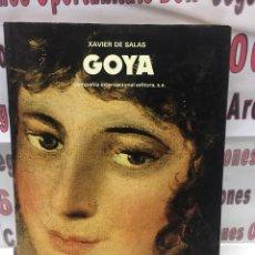 Libros de segunda mano - Goya de Xavier Salas - Compañia Internacional Editora - 110437155