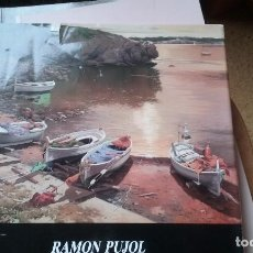 Libros de segunda mano: LIBRO DE PINTURAS DE RAMÓN PUJOL. Lote 110555103