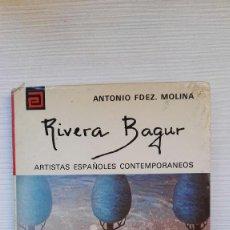 Libros de segunda mano: RIVERA BAGUR ARTISTAS ESPAÑOLES CONTEMPORANEOS Nº 142 . Lote 111352819