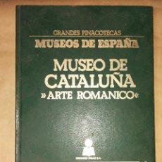 Libros de segunda mano: GRANDES PINACOTECAS MUSEOS ESPAÑA MUSEO DE CATALUÑA ARTE ROMANICO (FALTAN 4 LÁMINAS) EDICIONES ORGAZ. Lote 111390167