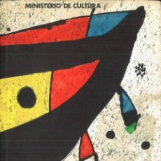 Libros de segunda mano: JOAN MIRÓ. PINTURA. MINISTERIO DE CULTURA. Lote 111570279