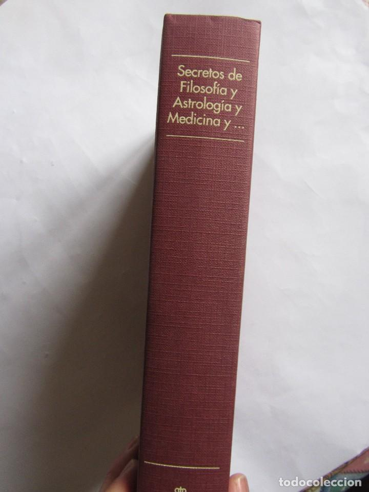 Libros de segunda mano: Secretos de filosofia y astrología y medicina y de las cuatro... Alonso López de Corella Navarra - Foto 2 - 111623059