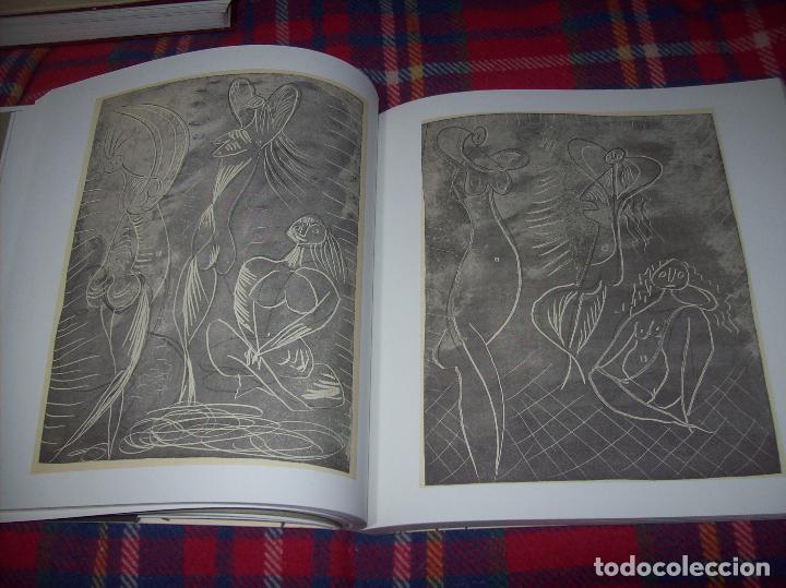 Libros de segunda mano: PICASSO Y LOS LIBROS. FUNDACIÓN BANCAJA. FOTOGRAFÍAS : JUAN GARCÍA ROSELL. 2005. VER FOTOS. - Foto 18 - 111742759