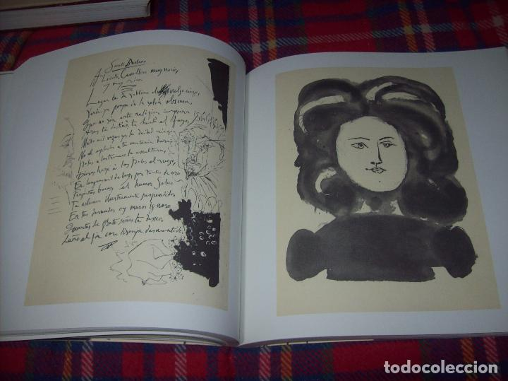 Libros de segunda mano: PICASSO Y LOS LIBROS. FUNDACIÓN BANCAJA. FOTOGRAFÍAS : JUAN GARCÍA ROSELL. 2005. VER FOTOS. - Foto 21 - 111742759