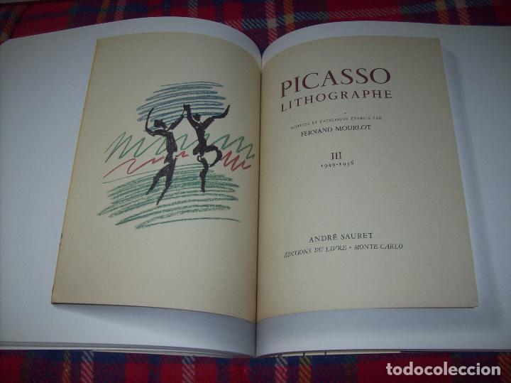 Libros de segunda mano: PICASSO Y LOS LIBROS. FUNDACIÓN BANCAJA. FOTOGRAFÍAS : JUAN GARCÍA ROSELL. 2005. VER FOTOS. - Foto 29 - 111742759