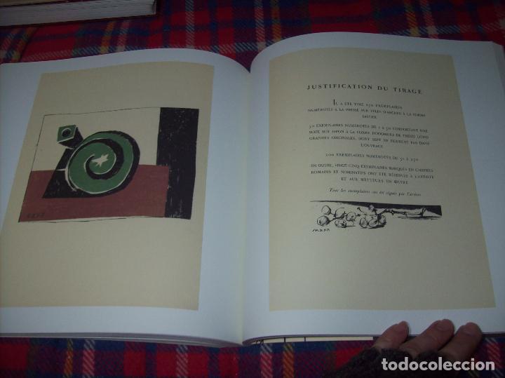 Libros de segunda mano: PICASSO Y LOS LIBROS. FUNDACIÓN BANCAJA. FOTOGRAFÍAS : JUAN GARCÍA ROSELL. 2005. VER FOTOS. - Foto 32 - 111742759