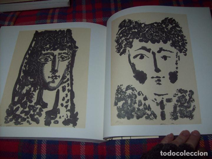 Libros de segunda mano: PICASSO Y LOS LIBROS. FUNDACIÓN BANCAJA. FOTOGRAFÍAS : JUAN GARCÍA ROSELL. 2005. VER FOTOS. - Foto 36 - 111742759