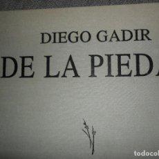Libros de segunda mano: DIEGO GADIR, DE LA PIEDAD, ED. DIEGO GADIR. Lote 111794695