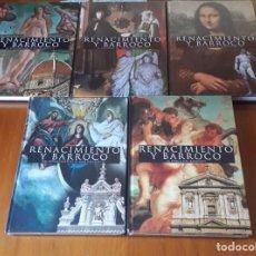 Libros de segunda mano: RENACIMIENTO Y BARROCO 5 TOMOS. Lote 111801147