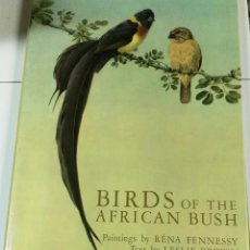 Libros de segunda mano: BIRDS OF THE AFRICAN BUSH, PAINTINGS BY RENA FENNESSY TEXT BY LESLIE BROWN, COLLINS, LONDON, 1975. Lote 111917507