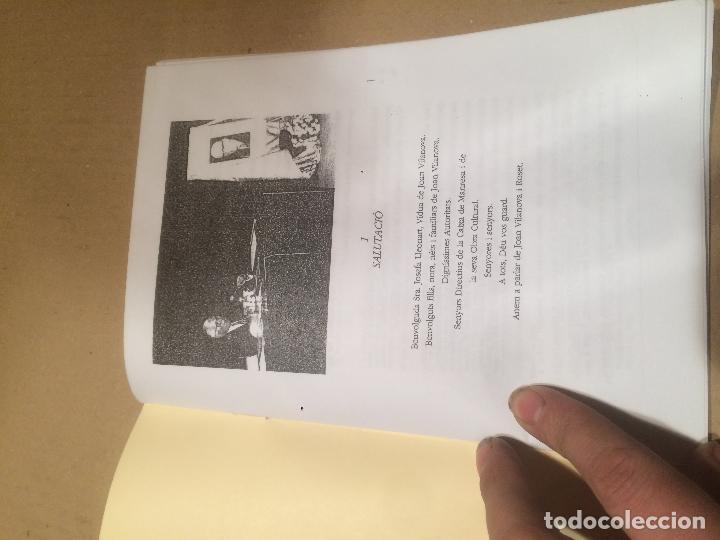 Libros de segunda mano: Antiguo pequeño libro del pintor dibujante Joan Vilanova l'home el pais i el dibuix Manresa años 70 - Foto 2 - 111931275
