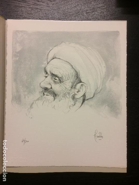 Libros de segunda mano: MOROCCO, LLUIS RIBAS, CON LITOGRAFIA ORIGINAL - Foto 2 - 112499643