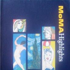 Libros de segunda mano: 'MOMA HIGHLIGHTS' [JOYAS DEL MUSEO DE ARTE MODERNO DE NUEVA YORK] (1999) SIN USO, IMPECABLE, AGOTADO. Lote 112778715