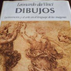 Libros de segunda mano: DIBUJOS. LEONARDO DA VINCI. Lote 113147127