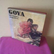 Libros de segunda mano: JACQUELINE Y MAURICE GUILLAUD - GOYA, LAS VISIONES MAGNIFICAS - 1987. Lote 113222123