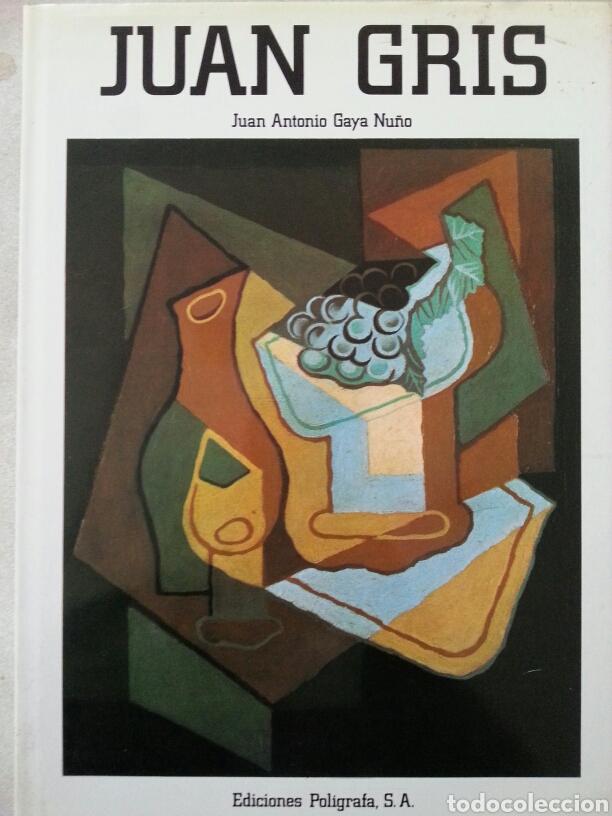 JUAN GRIS JUAN A.GAYA NUÑO (Libros de Segunda Mano - Bellas artes, ocio y coleccionismo - Pintura)