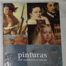 Libros de segunda mano: LIBRO PINTURAS QUE CAMBIARON EL MUNDO - BBVA (EI). Lote 113961319