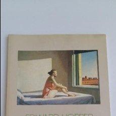 Libros de segunda mano: EDWARD HOPPER. FUNDACION JUAN MARCH. 1989. W. Lote 205706431