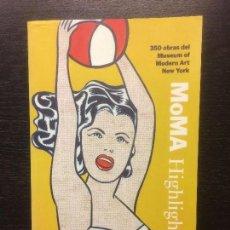 Libros de segunda mano: MOMA HIGHLIGHTS, 350 OBRAS DEL MUSEUM OF MODERN ART NEW YORK, SKIRA. Lote 114606343