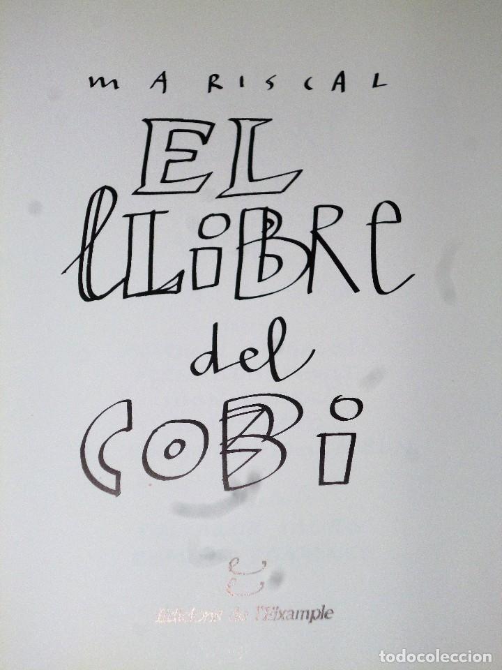 Libros de segunda mano: EL LLIBRE DEL COBI (con autógrafo) - Foto 3 - 114737647