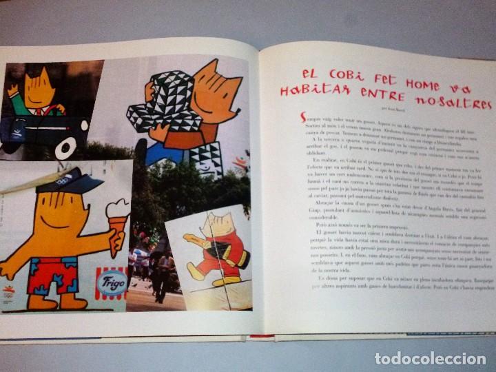 Libros de segunda mano: EL LLIBRE DEL COBI (con autógrafo) - Foto 15 - 114737647