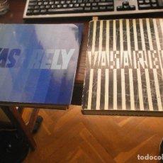 Libros de segunda mano: VASARELY - 1969 EDITIONS DE GRIFFON NAUCHATEL - ARTS PLASTIQUES DU XX SIECLE Y VASARELY 2 1971. Lote 269489443