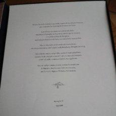 Libros de segunda mano: CAPRICHOS FRANCISCO DE GOYA FACSÍMIL NUMERADA ESTAMPAS UNIVERSIDAD DE ZARAGOZA 80 ESTAMPAS. Lote 115462055