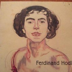 Libros de segunda mano: FERDINAND HODLER. Lote 115510827
