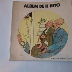 Libros de segunda mano: ÁLBUM DE K-HITO,PRIMERA EDICIÓN 1973. Lote 115626227