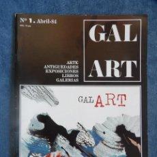 Libros de segunda mano: REVISTA GAL ART Nº 1. Lote 115762579