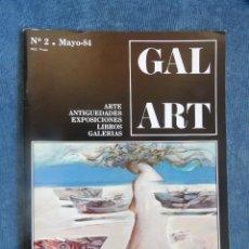 Libros de segunda mano: REVISTA GAL ART Nº 2. Lote 115762959