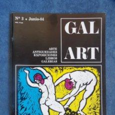 Libros de segunda mano: REVISTA GAL ART Nº 3. Lote 115763391