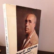 Libros de segunda mano: ENRIQUE SEGURA Y SU TIEMPO - CONFEDERACIÓN ESPAÑOLA DE CAJAS DE AHORROS. Lote 116561035