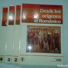 Libros de segunda mano: HISTORIA DE LA PINTURA TOMOS 1 AL 4 COMPLETA 1981 VARIOS 1ª EDICIÓN CEAC . Lote 116818891
